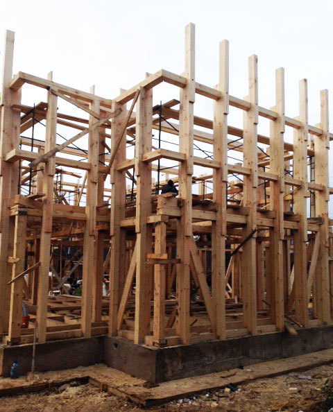 Этапы строительства дома под ключ